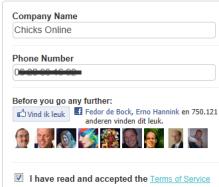 Bedrijfsnaam en Telefoonnummer
