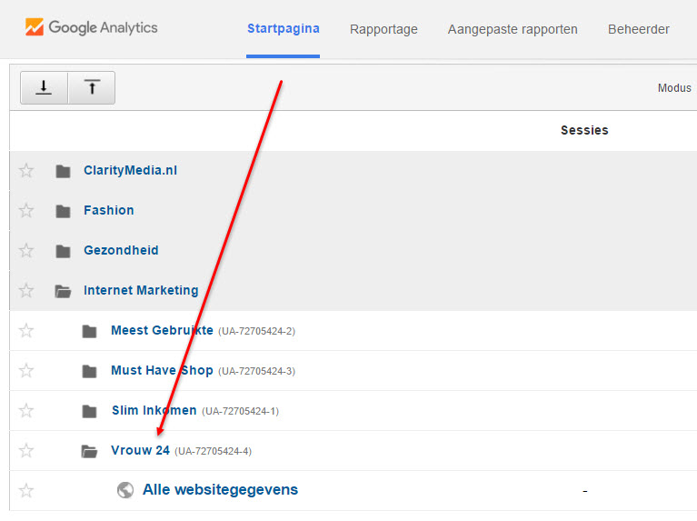 google analytics installatie controleren