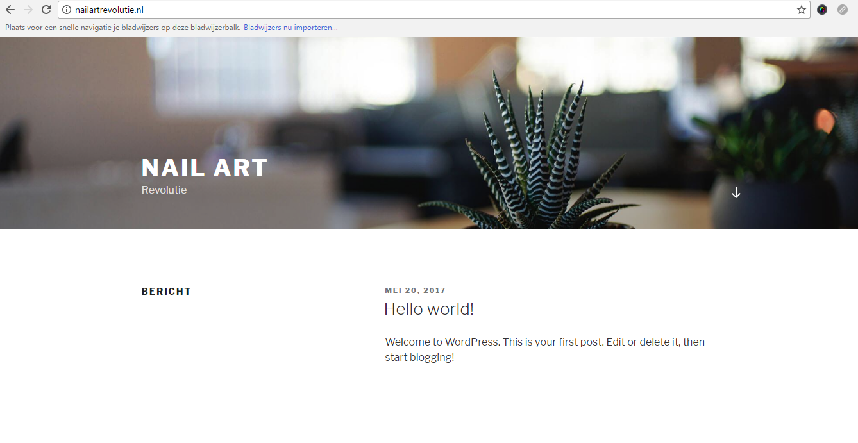 Website maken met TransIP? WordPress installeren met één klik!